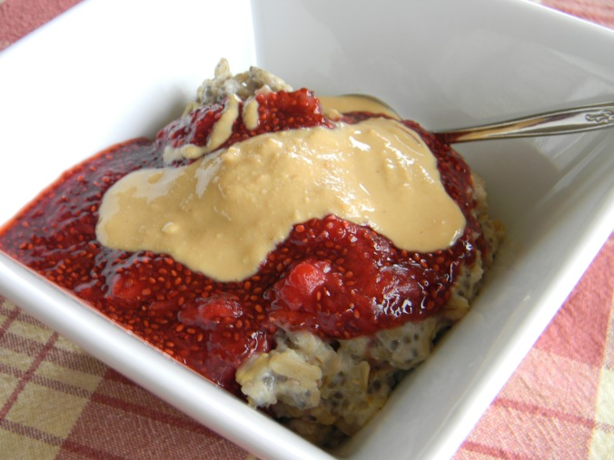 An oatmeal topper!