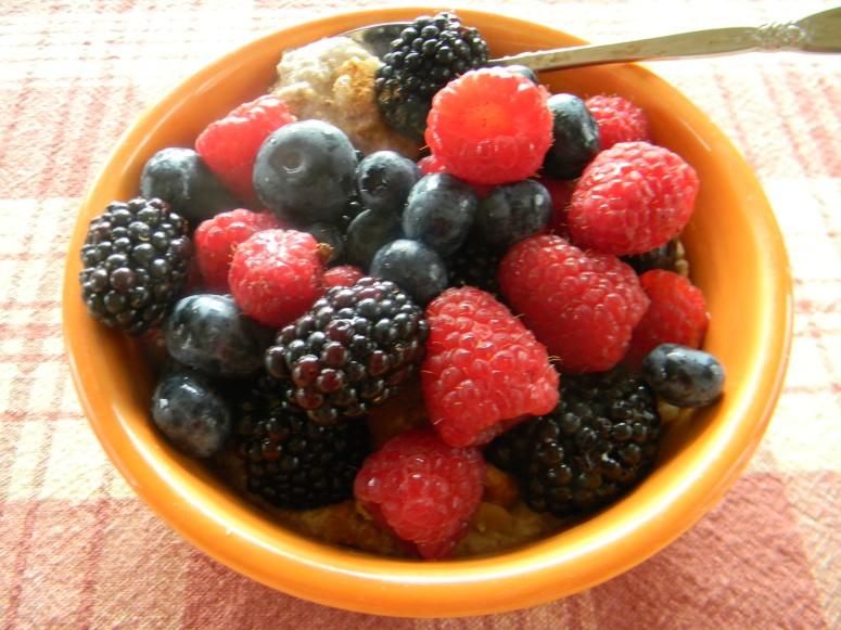 Summertime Chia Seed Breakfast Bowl