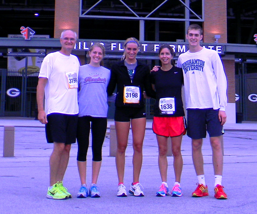 Fun runs with the family!