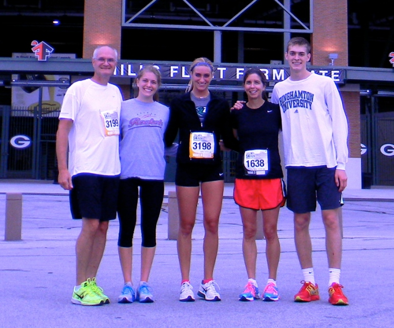 Fun runs with the family!
