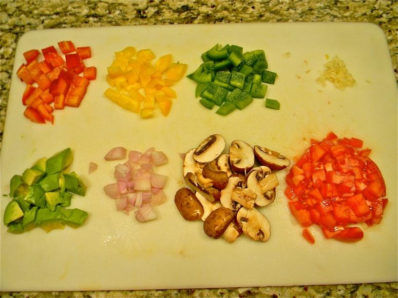 Chop your veggies!