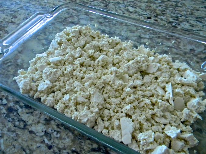 Tofu crumbles