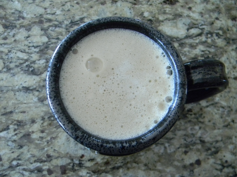 NIce and frothy...just the way I like it!