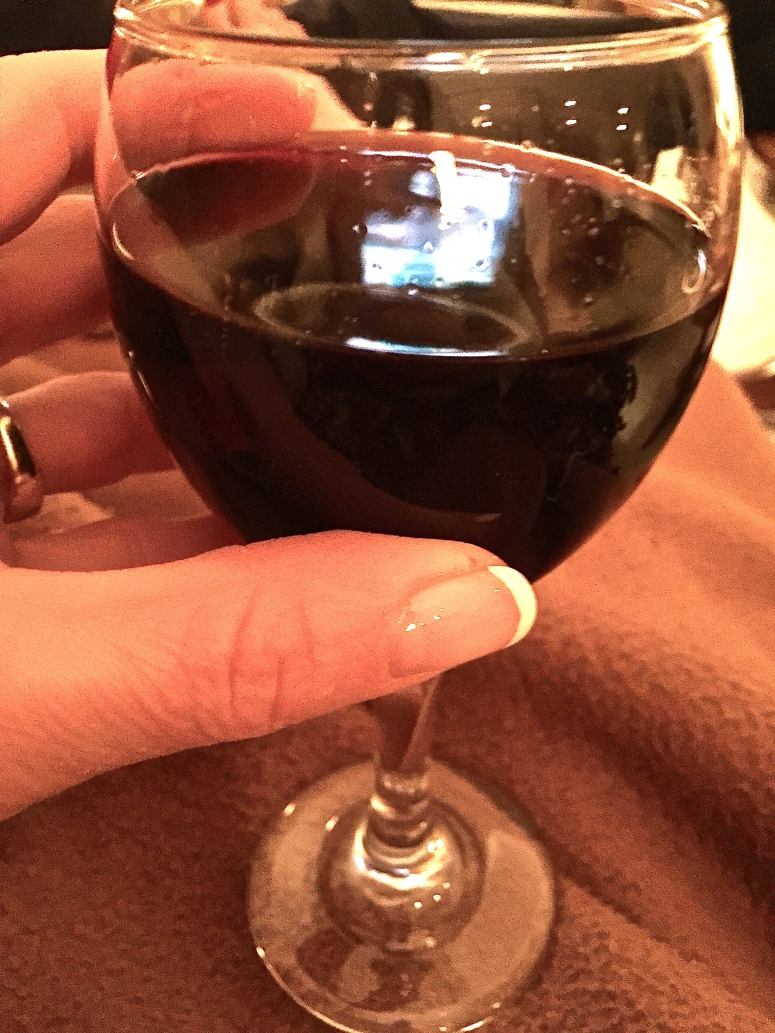 Cheers! Here's to me!